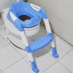 Potty Chair With Ladder Evenflo Modern Kitchen High Baby Toddler Kids Toilet Training Safety Adjustable