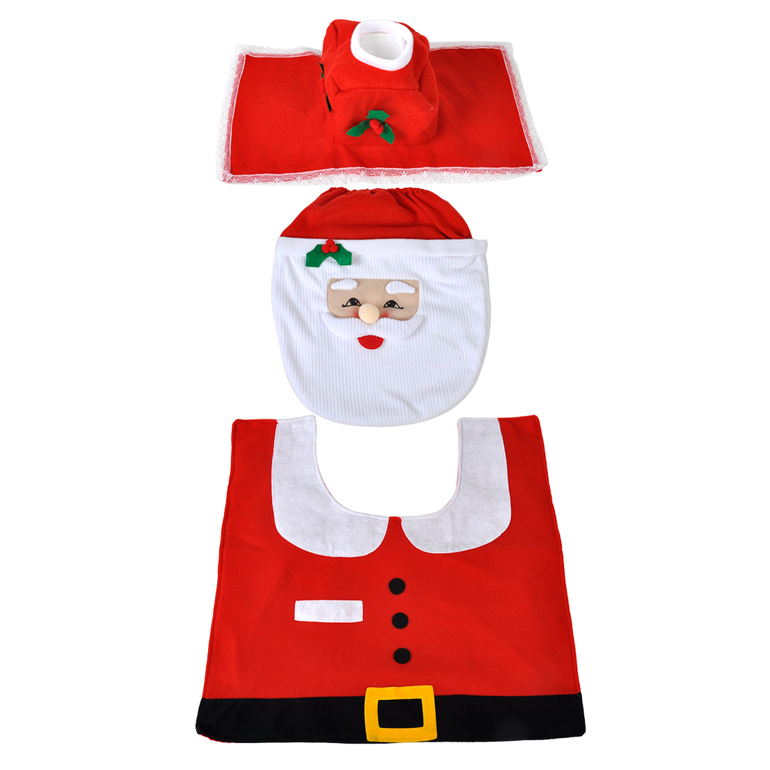 santa chair covers sets high converts to table and christmas decor toilet clothing cover candy