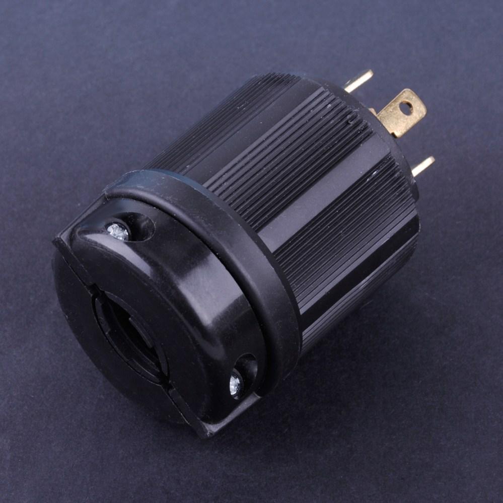 medium resolution of details about l14 30p 30a 125 250v locking generator plug nema 4 wire outdoor twist lock us
