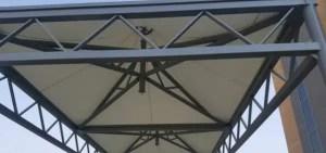 مظلات اسواق