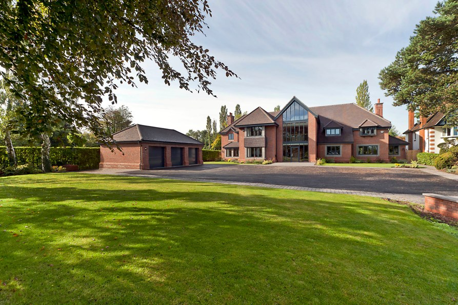 112 Widney Manor Road Solihull - Front View