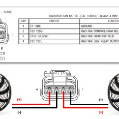 Radiator Fan Relay Wiring Diagram Car Stereo Hook Up How To Wire Aftermarket Fans Dodge Srt Forum