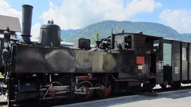 "Dampflok U25 ""Bezau"" vom Wälderbähnle"