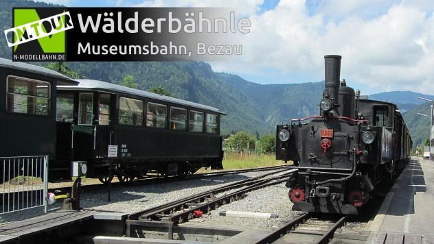 """Bregenzerwaldbahn """"Wälderbähnle"""" Museumsbahn"""