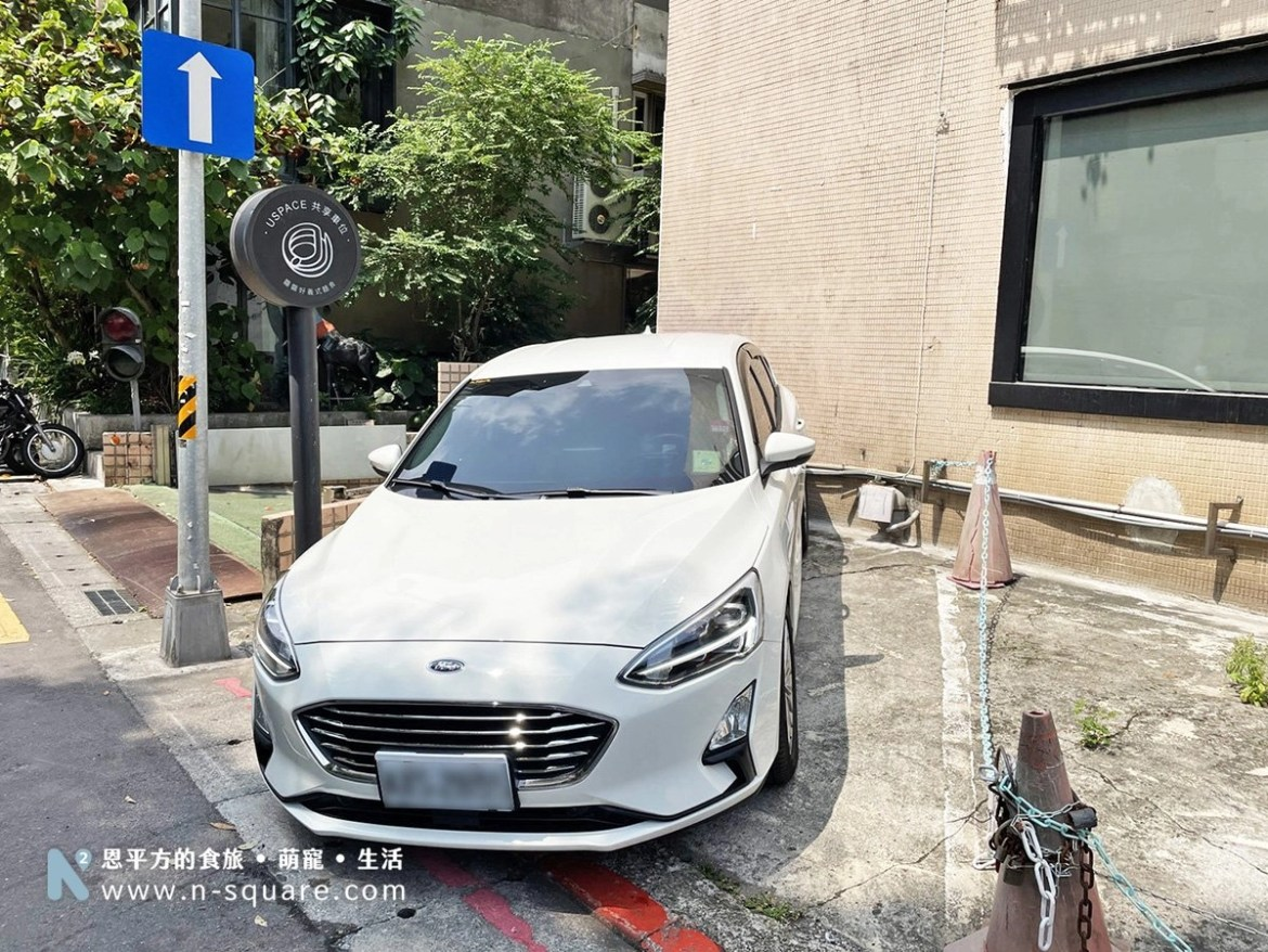 Ford Focus停好車位