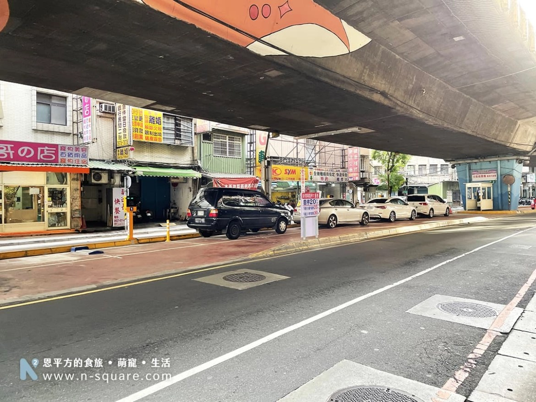 忠孝橋下的重安街停車場