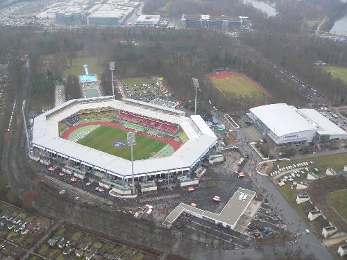 WM-Spielort Frankenstadion Nürnberg