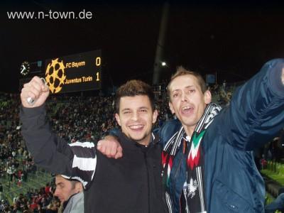 Enzo und Dudze beim Juve-Spiel