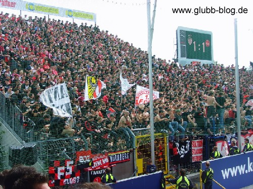 FCN-Fans in Fürth