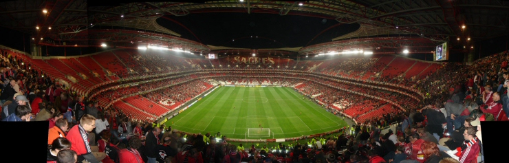 Estadio da Luz in Lissabon
