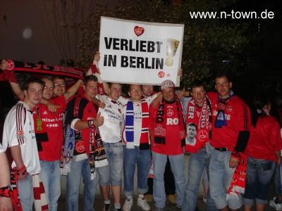 Verliebt in Berlin nach Pokalspiel