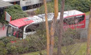 Spielerbus im Süd-West-Park