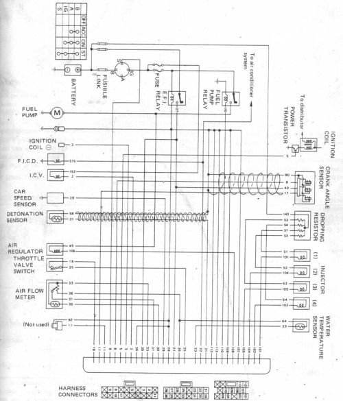 small resolution of nissan ecu wiring diagram