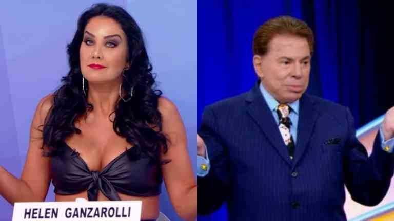 Helen Ganzarolli manda recado para críticos de Silvio Santos