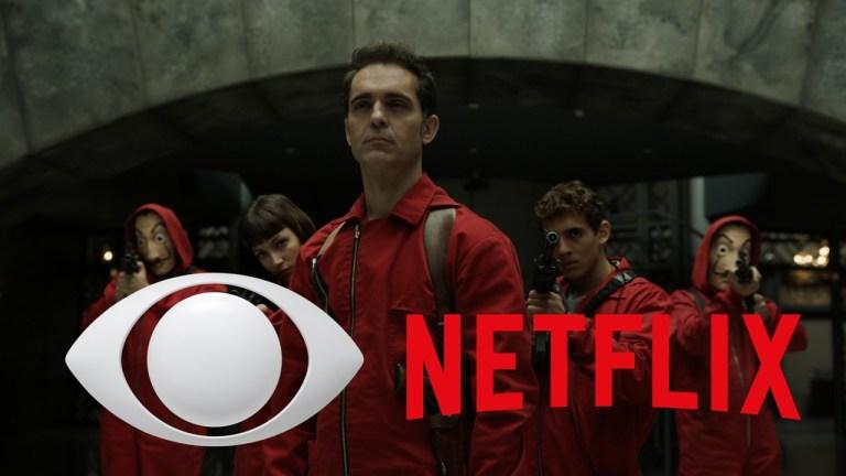 La Casa De Papel Netflix na Band exibição TV aberta