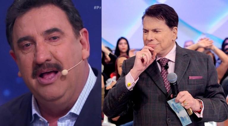 Ratinho e Silvio Santos no SBT