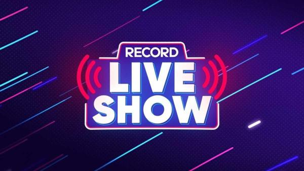 Record Live Show programa da Record sabrina sato programação nova atração com lives