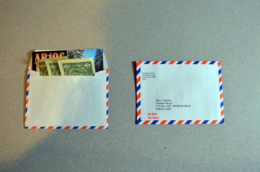 QSL Step 2 - Inner Return Envelope
