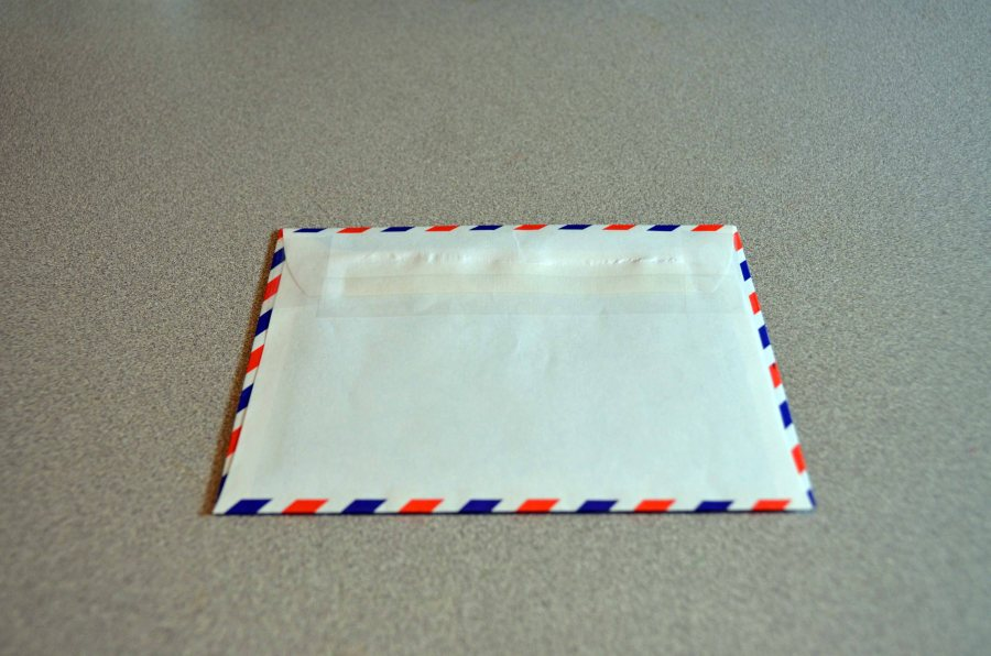 QSL Step 4 - Outer Envelope Sealed