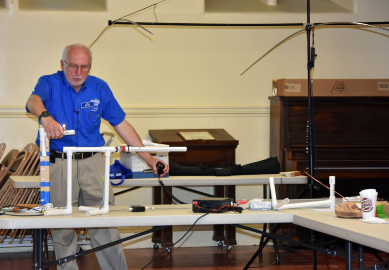 Learn Amateur Radio or Ham Radio - Directional Antennas Demo
