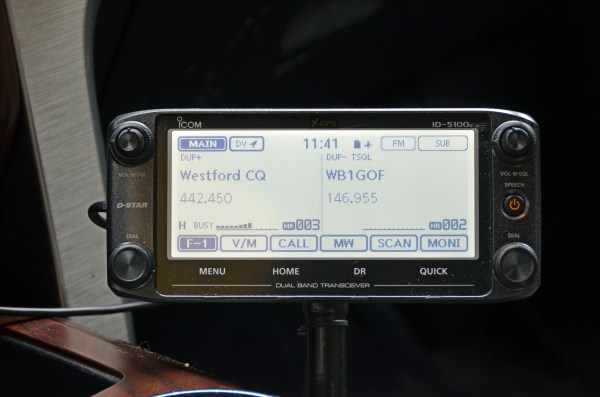 Mobile 2m/70cm FM Radio in a Vehicle