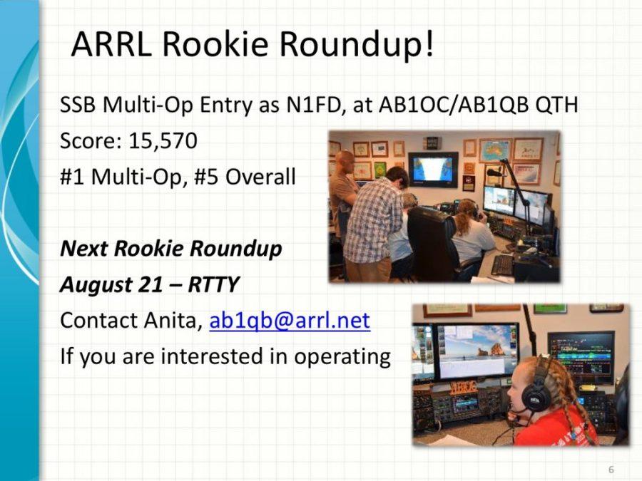 2016 ARRL Rookie Roundup RTTY Information