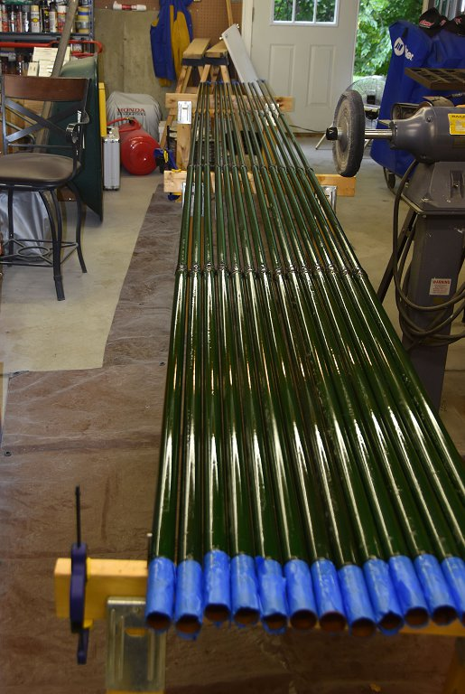 Antenna Projects - Reconditioned Element Sweep Poles