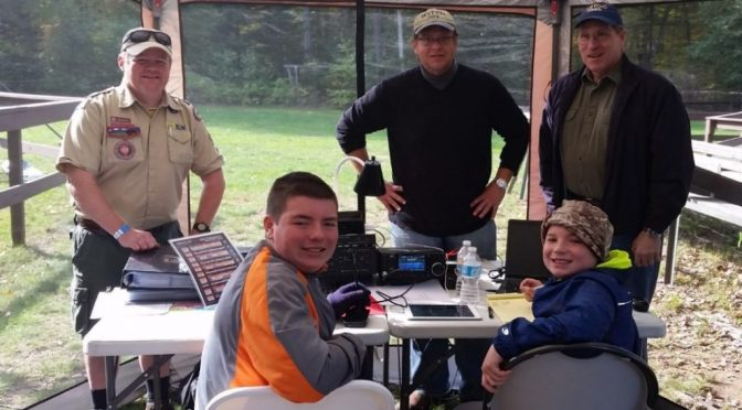 Nashua Area Radio Club Supports Scouting Jamboree on The Air
