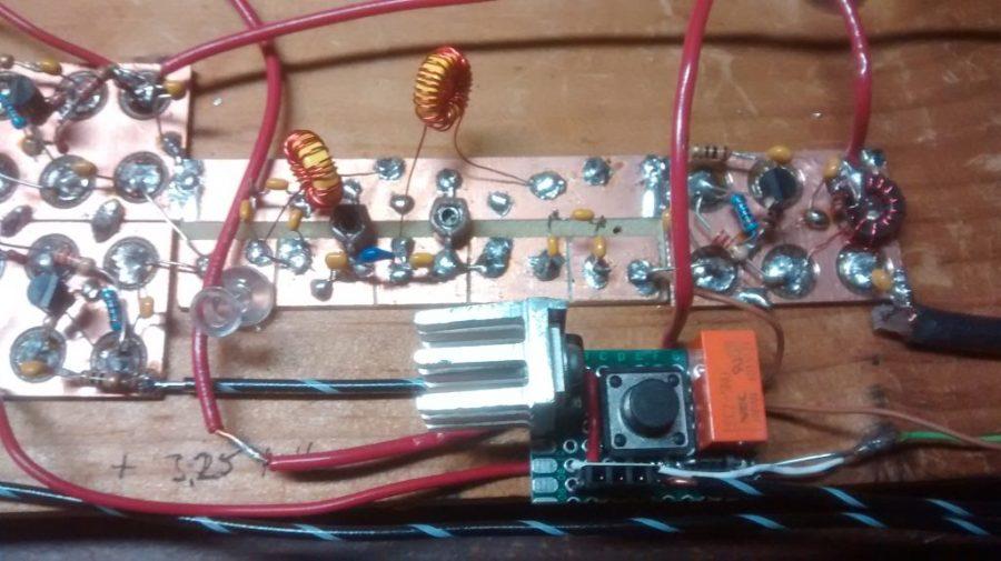 BitX20 Bandpass Filter