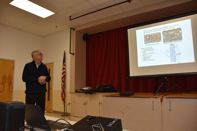 Hamilton, K1HMS Explains CPLD Technology