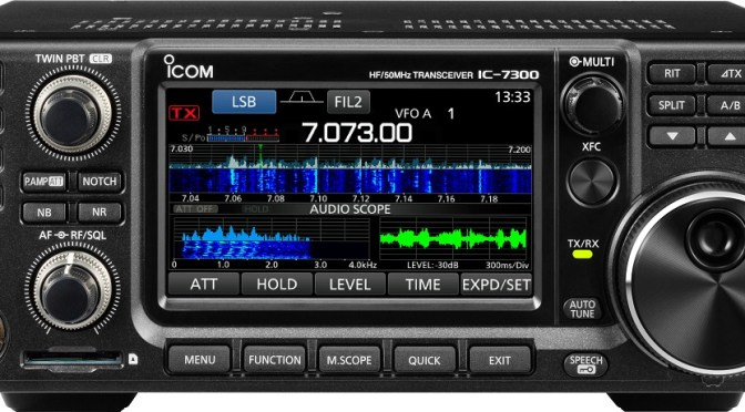 Icom IC-7300 USB for Radio Control + FSK Keying