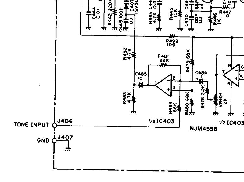 PL Tone Mod Circuit