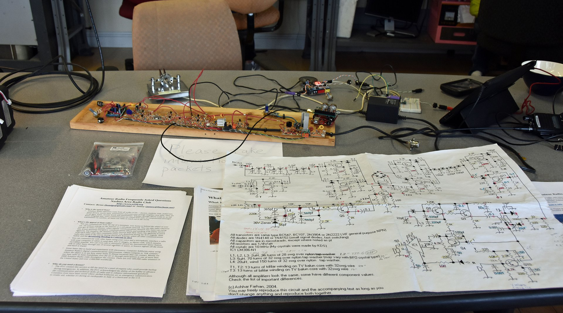 Mike's Scratch Build Transceiver 3