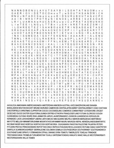Ham Radio Puzzle - DX Most Wanted