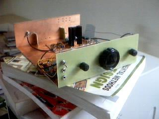BitX20 Homebrewed Transceiver