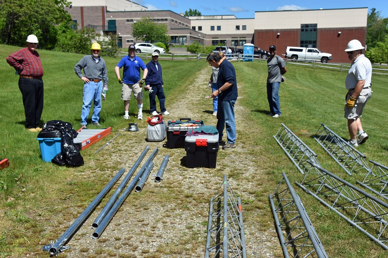 Tower Test - Equipment And Tools On Site