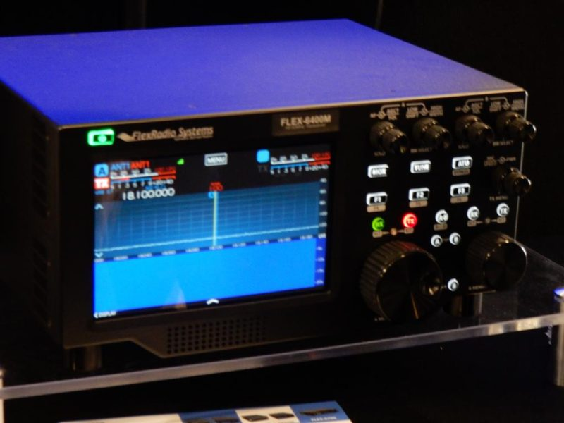 Flex Radio's new Transceiver with kbows at the Dayton Hamvention