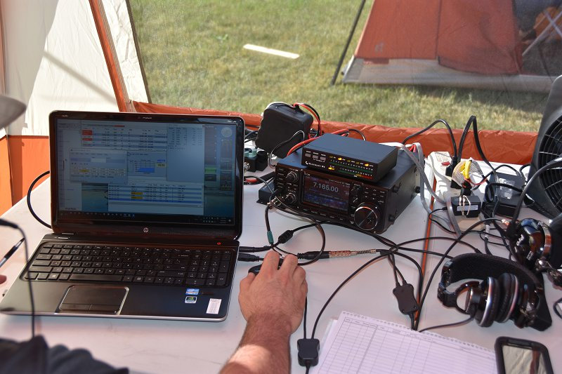 Field Day 2017 - 40M SSB Station