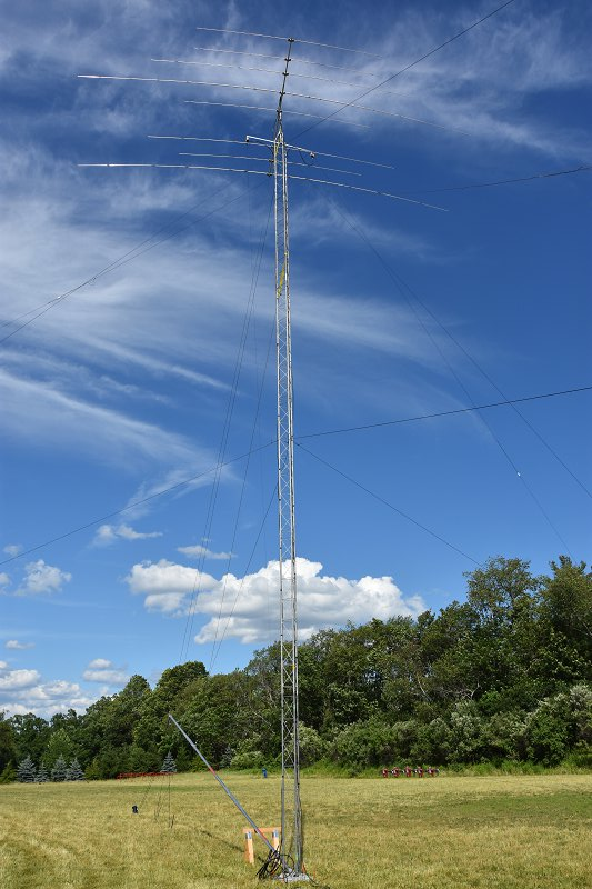 Field Day 2017 - A New 60 Ft Tower