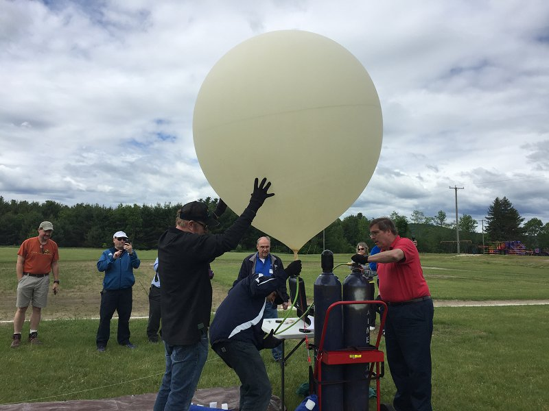 High-Altitude Balloon Inflation