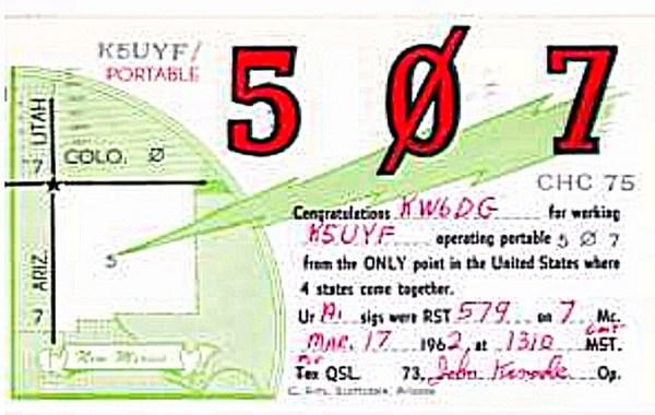 QSL Card 507