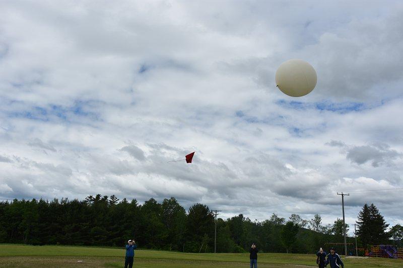 High-Altitude Balloon Launch!