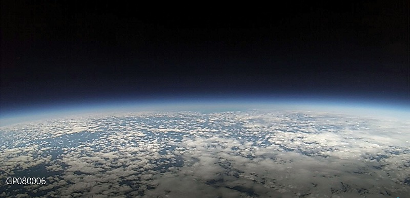Amateur Radio Club - Our HAB's View From The Edge Of Space
