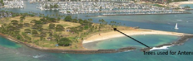Hawaii Homeless Ham Still Finds Time to Work the World QRP