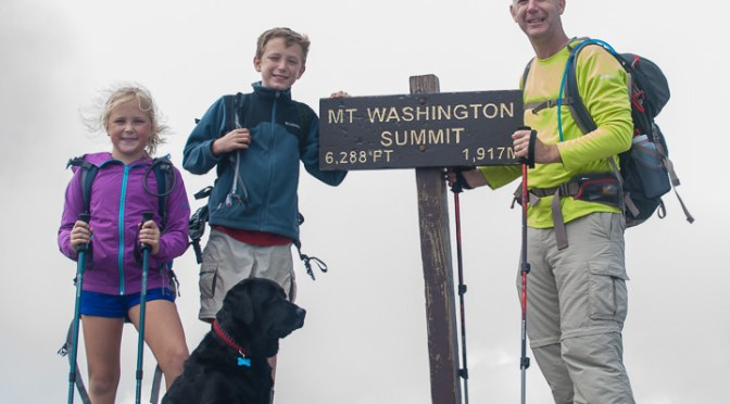 SOTA/POTA Activation of Mount Washington (6,288′)