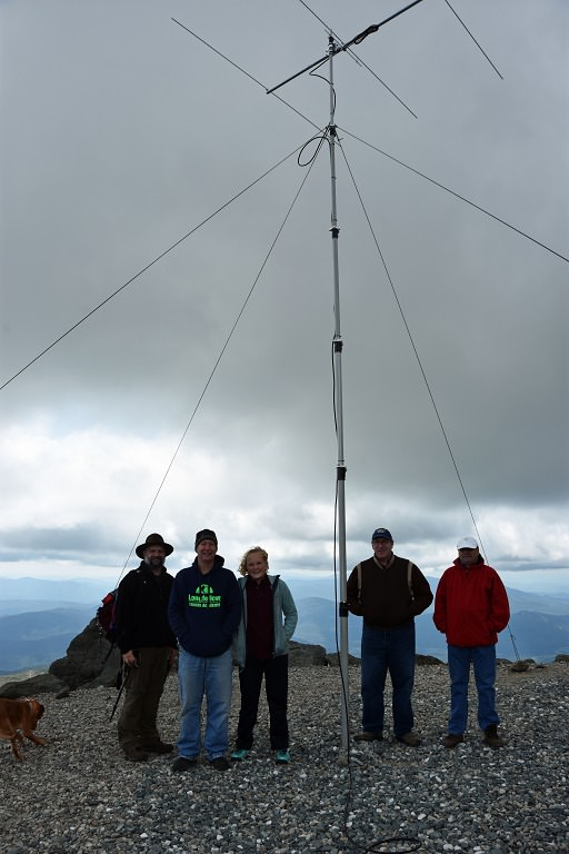 Nashua Area Radio Club Members on Mt. Washington 2
