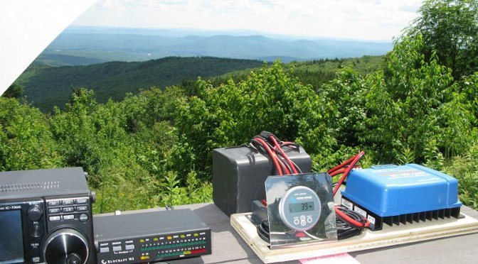 Portable SOTA Station with a View