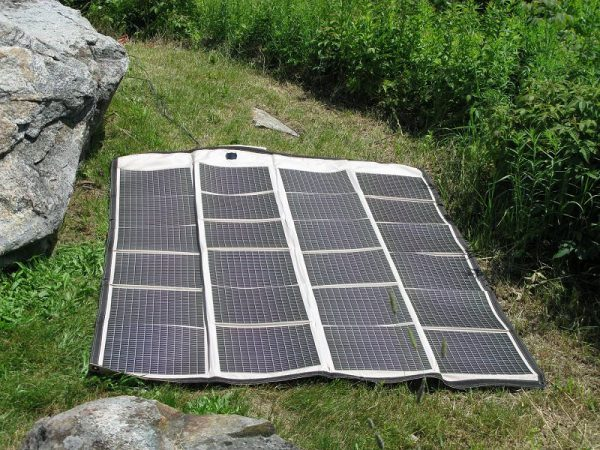 Solar Panel Power for SOTA Activation