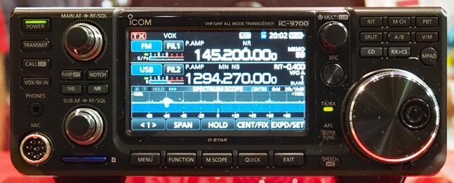 Icom IC-9700 Prototype Transceiver