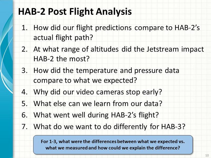 High-Altitude Balloon Data Analysis